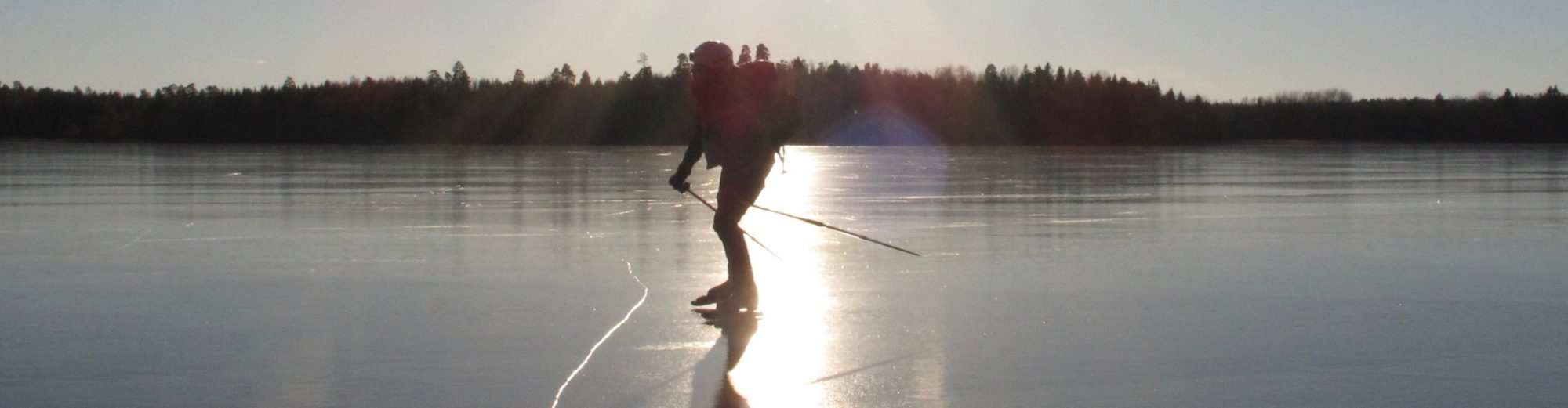 Waterland Sweden – In Water and on Ice – Kayaking and Skating